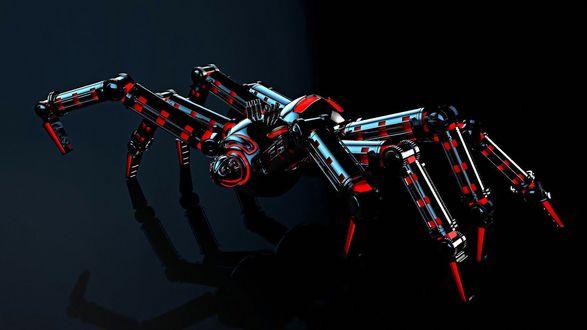 Обои Механический паук робот