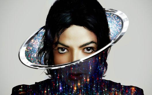Обои Американский король поп-музыки Майкл Джексон / Michael Jackson / в одном из своих необычных нарядов