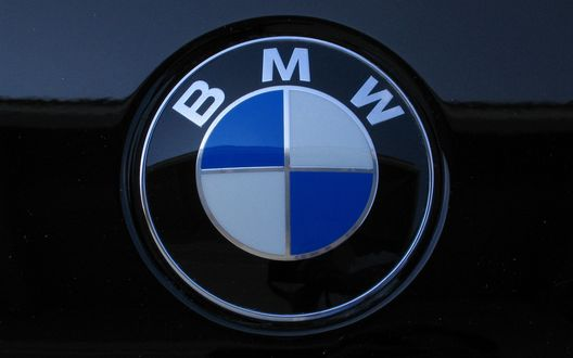 Обои Значок логотип фирмы BMW