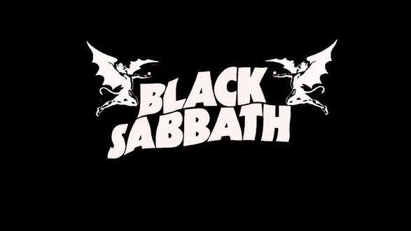 Обои Логотип группы Black Sabbath