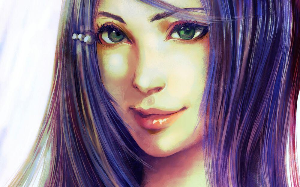 картинки с фиолетовыми рисунками цветами