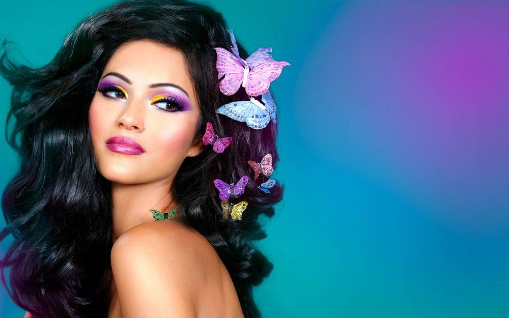 Фото девушек красивый макияж