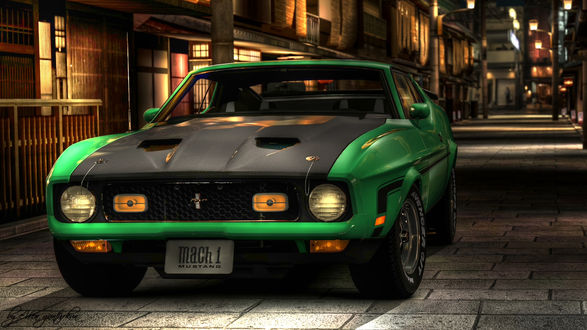 ���� Ford Mustang �� ������ ����� ����� ������