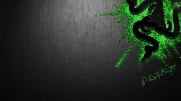 Обои Логотип фирмы Carbon Razer