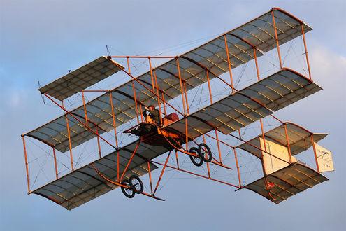Обои Оригинальный самолет с пилотом в небе, by Daniel-Wales-Images