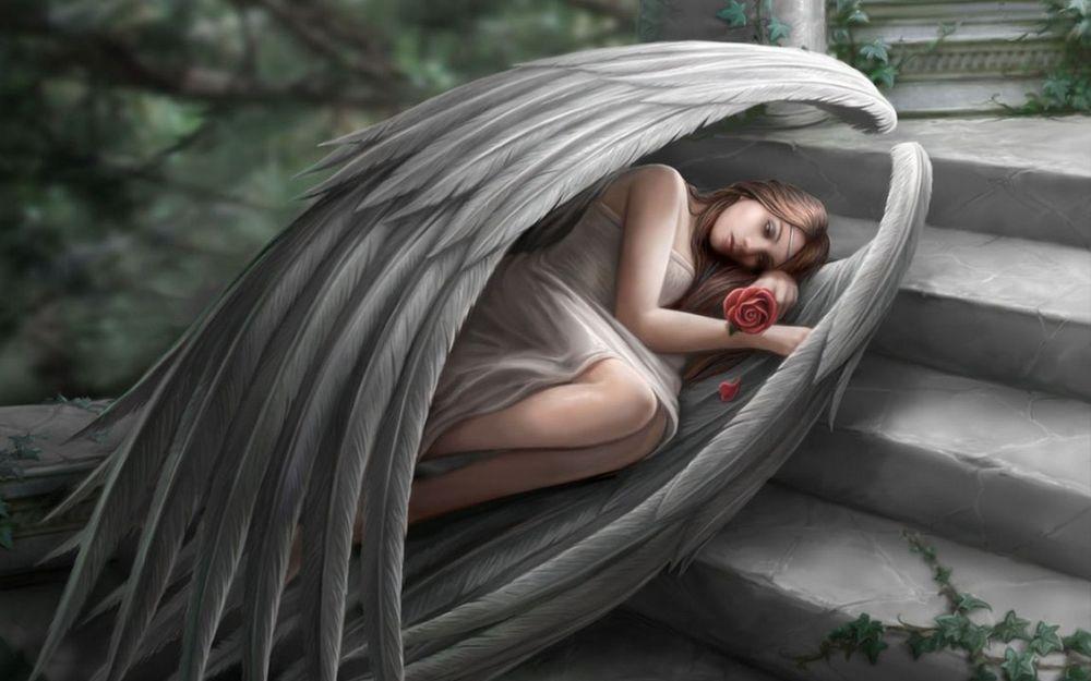 картинки уставших ангелов приготовления