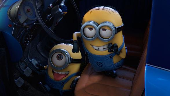 Обои Миньоны Фил и Марк из одноименного мультфильма