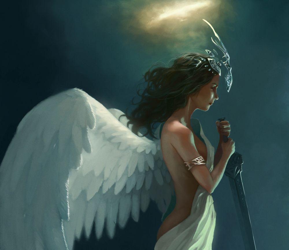 Секси ангелы девочки