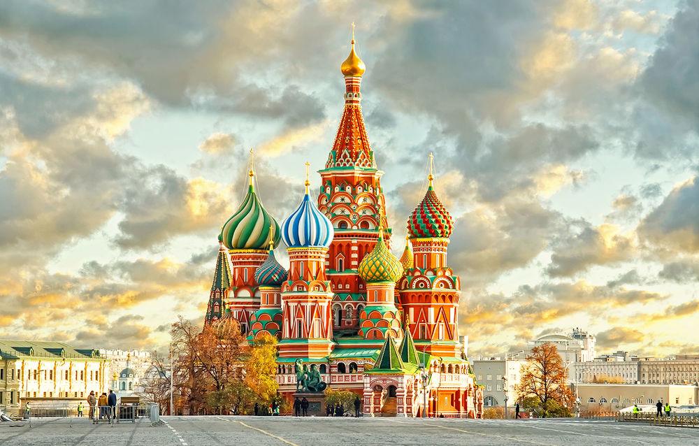 Обои для рабочего стола Храм Василия Блаженного / Покровский собор, Москва