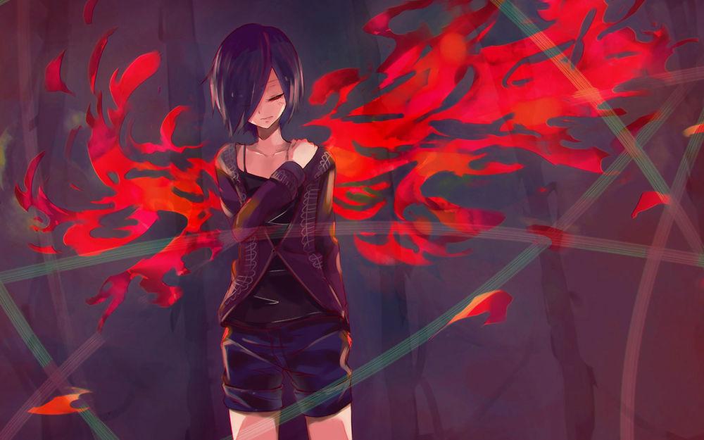 картинки из аниме токийский гуль тока