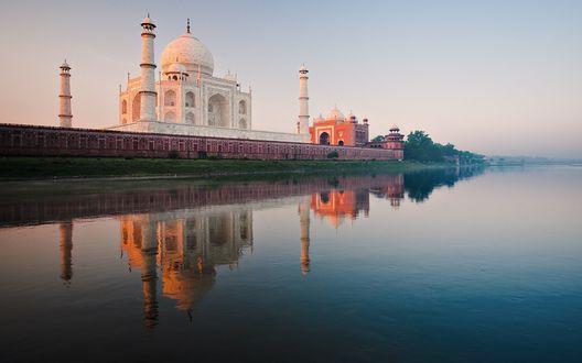 Обои Тадж Махал, Агра, Индия