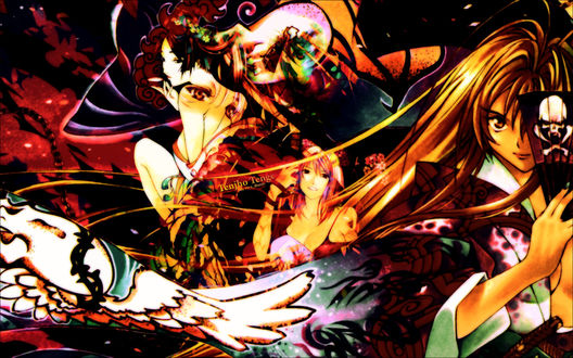 Обои Maya Natsume / Мая Нацумэ из аниме Tenjou Tenge / Небо и земля (Tenjou Tenge, Maya Natsume)
