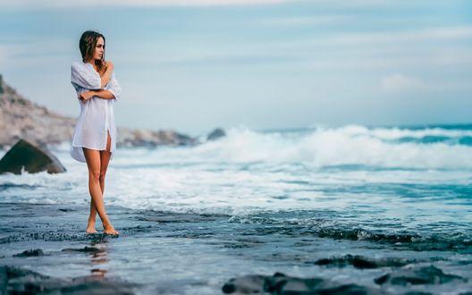 фото на фоне моря смотреть бесплатно