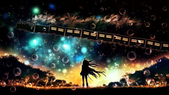 Обои Vocaloid IA / Вокалоид Йа, art by harada miyuki
