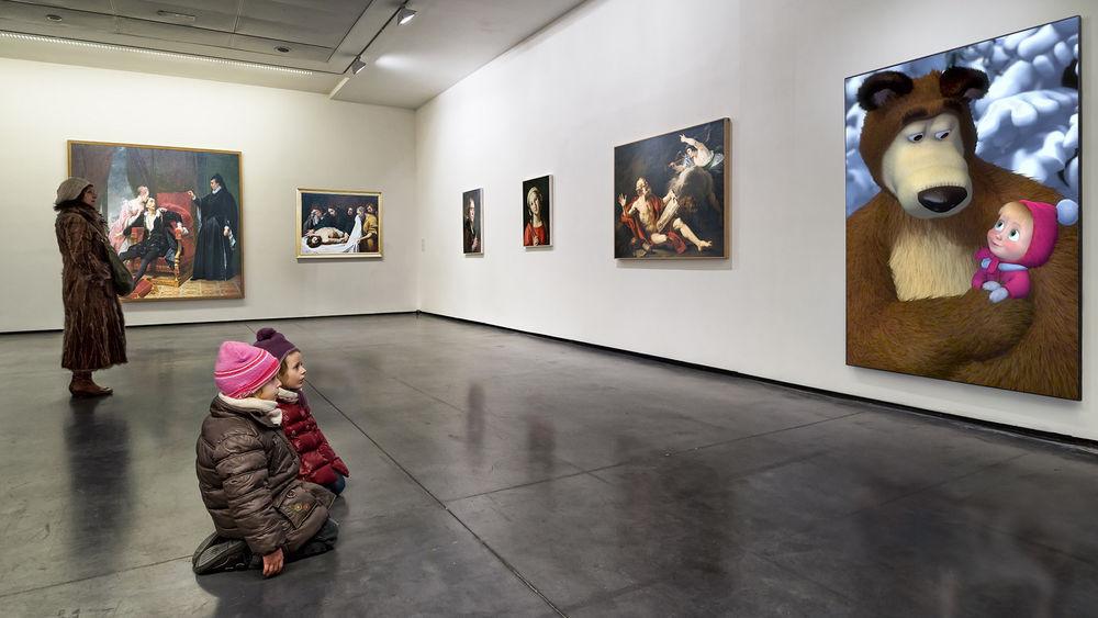 почему фото в галерее искажаются разработке