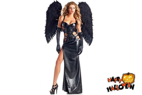 Обои Ангел темных сил, Halloween