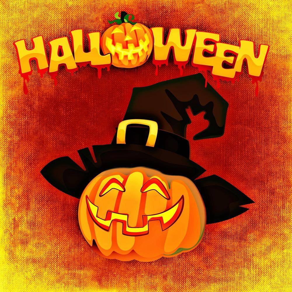 Прикольные, картинка с надписью хэллоуин