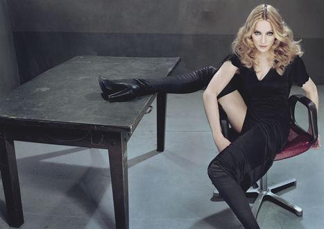 Обои Популярная американская певица, автор песен, продюсер и танцовщица актриса Мадонна. Работа Стивена Кляйна