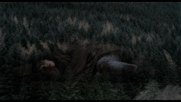 Обои Актриса Скарлетт Йоханссон, кадр из фильма / Under the Skin / Побудь в моей шкуре