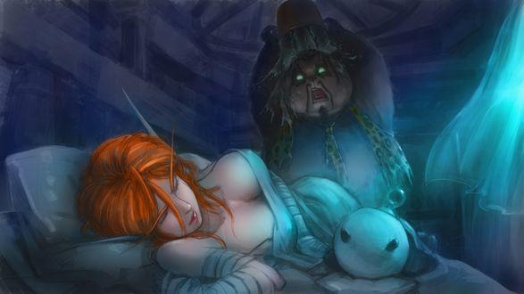 Обои Персонажи компьютерной игры World of Warcraft (Военное ремесло)