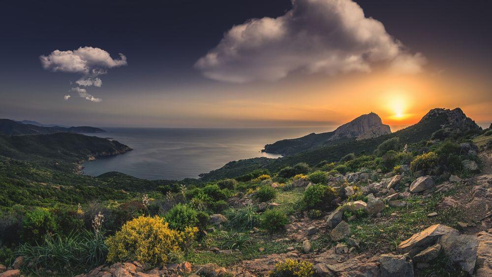 средиземноморские пейзажи обои на рабочий стол № 648718 без смс
