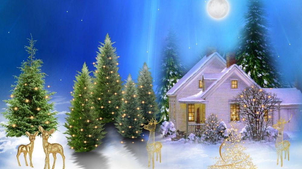 Обои На Раб Стол Зима Новый Год