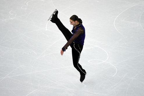 Обои Джейсон Браун — американский фигурист, выступающий как одиночник. Бронзовый призер в командных соревнованиях на XXII зимних Олимпийских играх в 2014 году