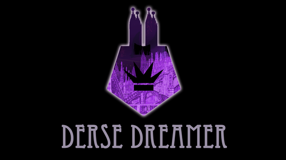 Обои Эмблема Дерса из веб-комикса Хоумстак / Homestuck (Derse Dreamer)