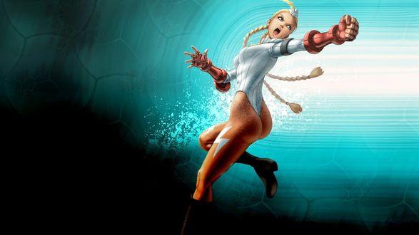 Обои Девушка боец, персонаж серии мультиплатформенных видеоигр Street Fighter