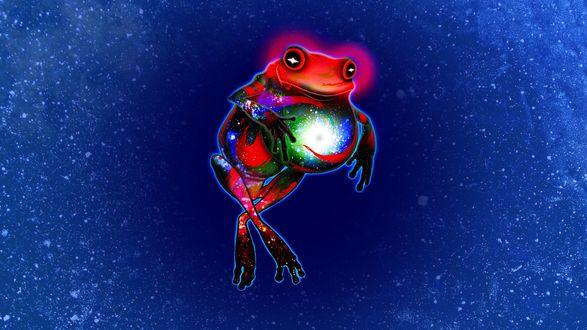 Обои Genesis Frog / Лягушка Бытья из веб-комикса Хоумстак / Homestuck