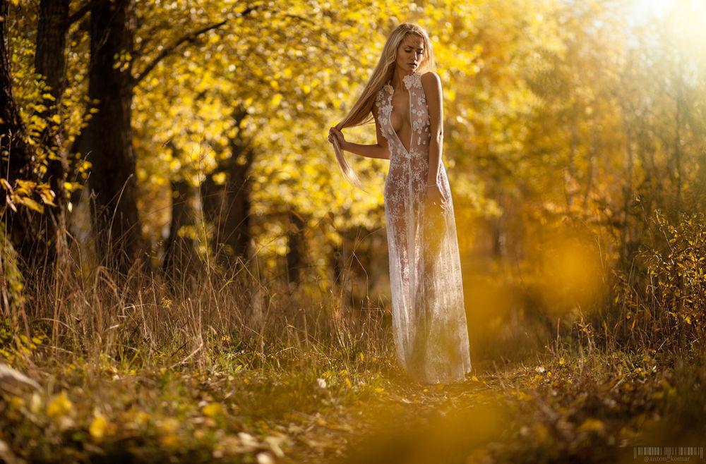 Девушки красивая девушка в прозрачном платье женщин смотреть