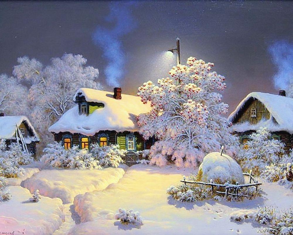 скачать картинки для фона рабочего стола зима