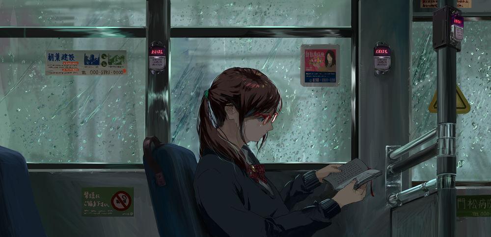 Случайные фото девушек в автобусе фото 540-531