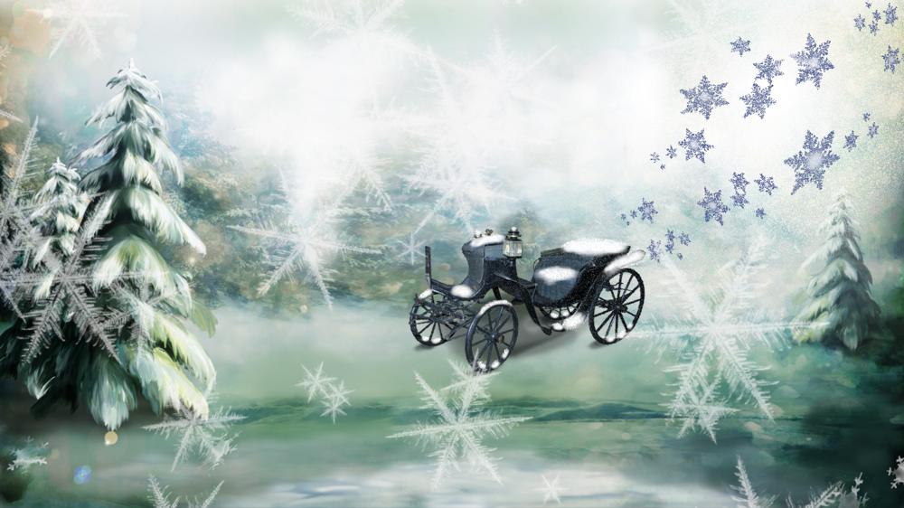 Обои На Рабочий Стол Сказочный Зимний Лес