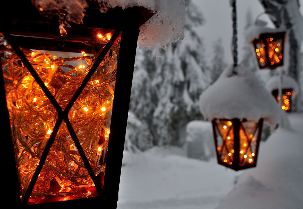 такое фонарь снег картинки выбор