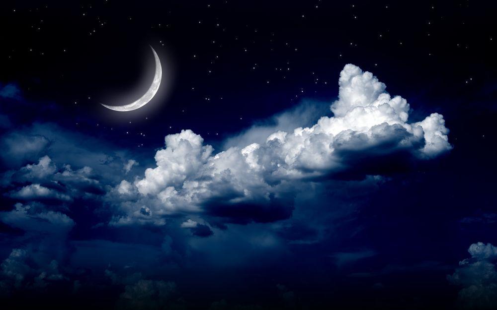 Для рабочего стола обои ночное небо
