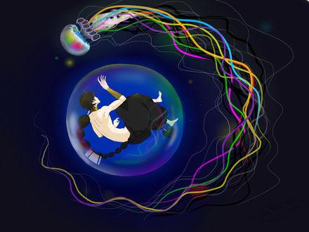 Обои Джудал / Judal из аниме Маги - Лабиринт Магии / Magi - Labyrinth of Magic
