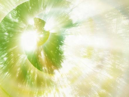 Обои Абстракция Солнце сквозь листву