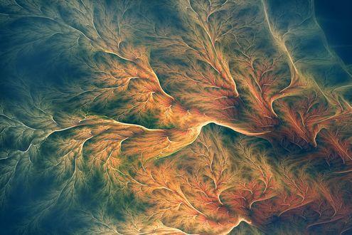 Обои Stride the Corridors of Ones Mind фрактальная абстракция от Xyrus02