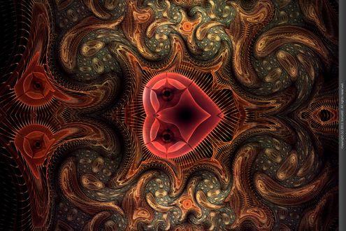 Обои The Tribes of New Ulverick фрактальная абстракция от Xyrus02