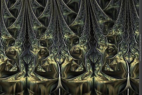 Обои When They Invaded Uranus фрактальная абстракция от Xyrus02
