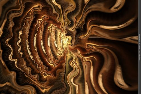 Обои Zyklotron фрактальная абстракция от Xyrus02