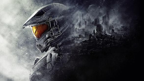 Обои Master Chief / Мастер Чиф / Серия игр Halo / Halo 5