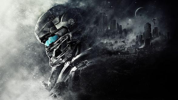 Обои Спартанец Лок / Locke / Halo 5