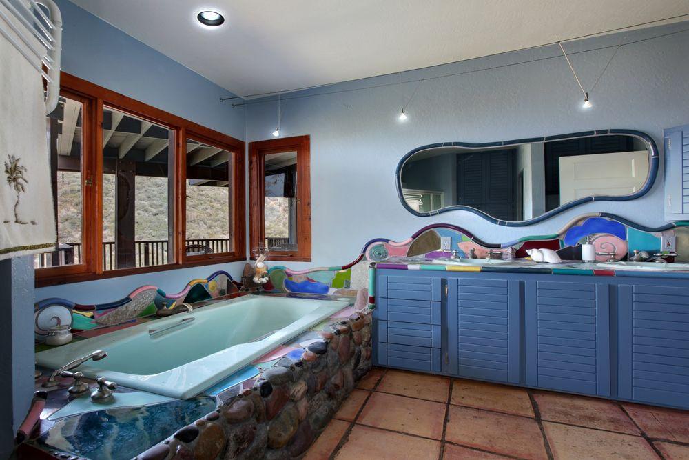 Обои для рабочего стола Креативный дизайн ванной комнаты
