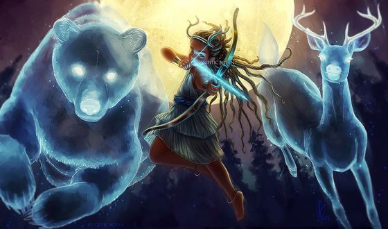 Обои Princess Iphigenia / Принцесса Ифигения, by CelticBotan