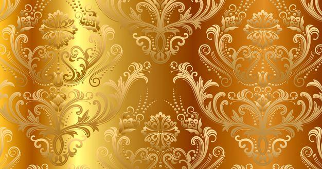Обои Винтажное золото (абстрактный рисунок - текстура)