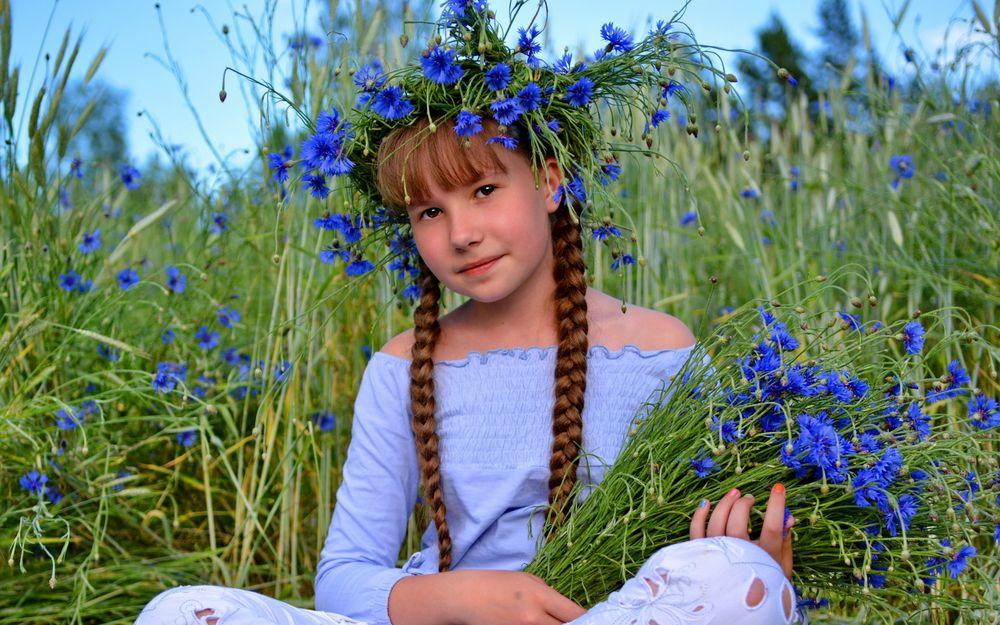 Девочка из васильков эро фото фото 590-985