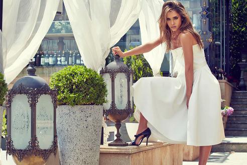 Обои Актриса Jessica Alba / Джессика Альба, фотосессия для Cosmopolitan
