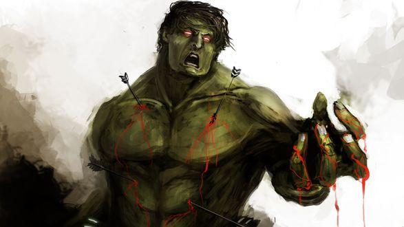 Обои Халк из Мстителей